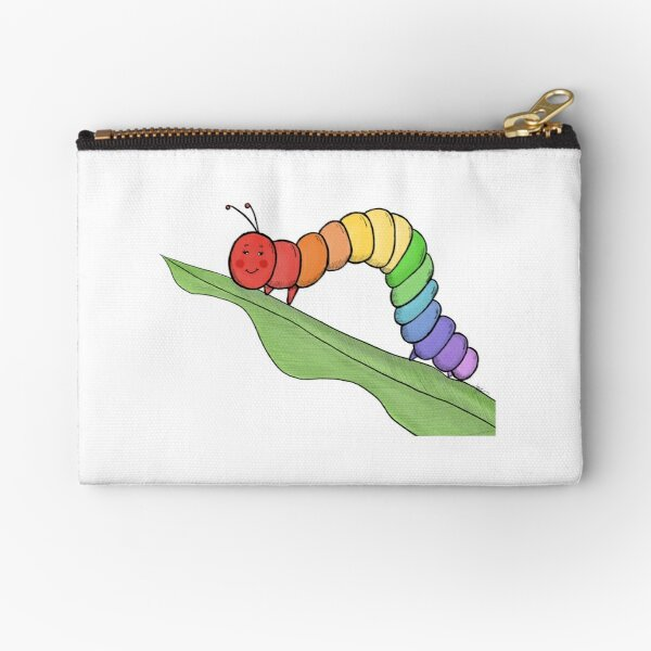 Caterpillar Zipper Pouch