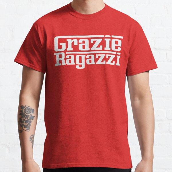 Grazie Ragazzi Check White Classic T-Shirt