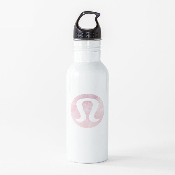 Lululemon pink watercolor  Water Bottle