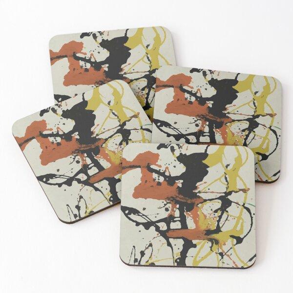 Jackson Pollack | Number 26 Coasters (Set of 4)