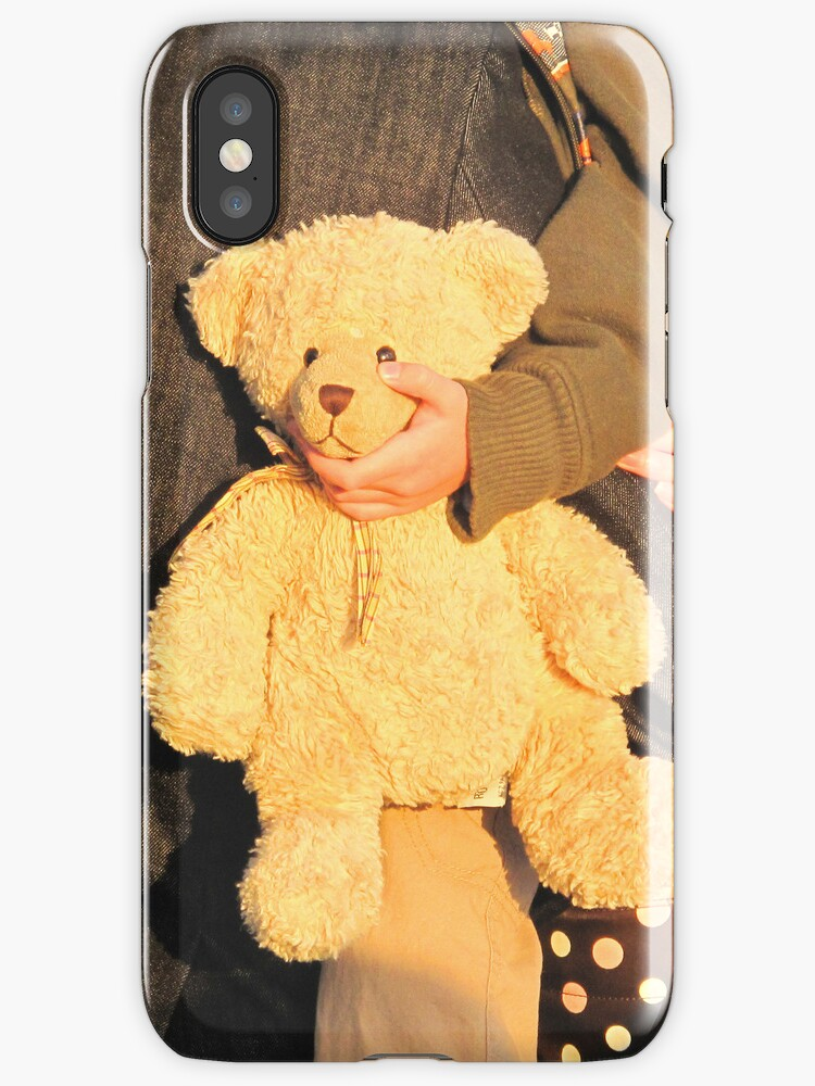 iPhone-Teddybear by Christine  Wilson