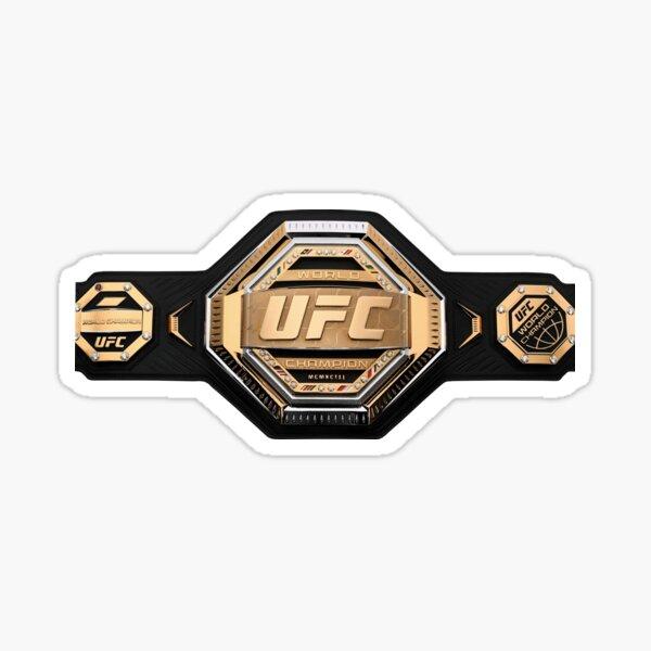 Ufc legacy belt Sticker