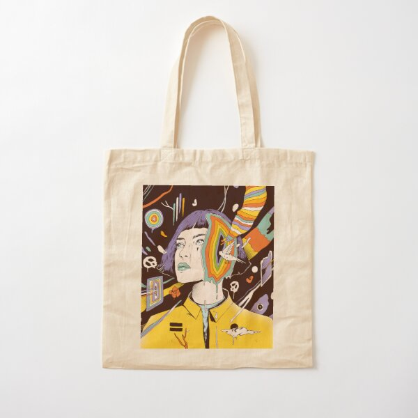 The Overthinker Cotton Tote Bag
