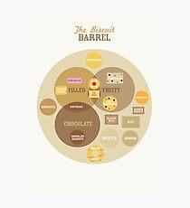 Biscuit Barrel Photographic Print