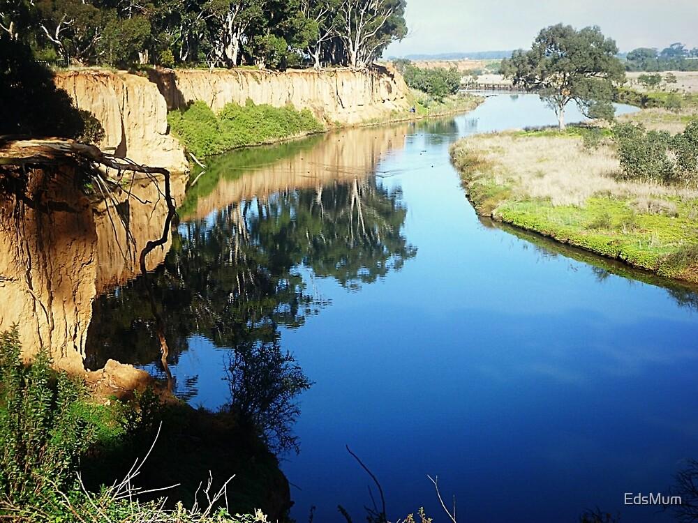 Beautiful Werribee River & its reflections - Werribee, Vic. Australia* by EdsMum
