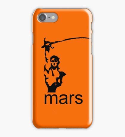 John Carter of Mars iphone orange iPhone Case/Skin