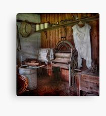 The Laundry ~ Monte Cristo, Junee NSW Canvas Print