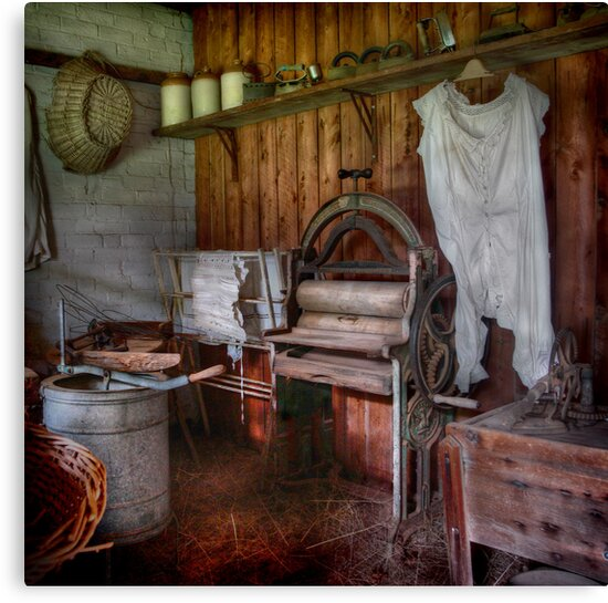 The Laundry ~ Monte Cristo, Junee NSW by Rosalie Dale