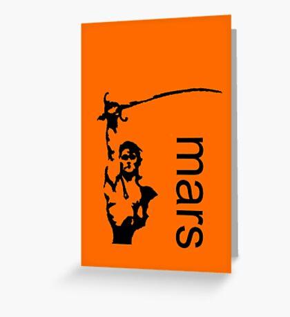 John Carter minimalist poster Greeting Card