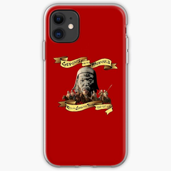 Genghis and the Mongols: Kill or Conquer Tour iPhone Soft Case