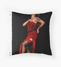 Miss Burlesque South Australia Dezzi Throw Pillow
