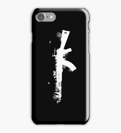 Ak47 Love & Peace (black) iPhone Case/Skin