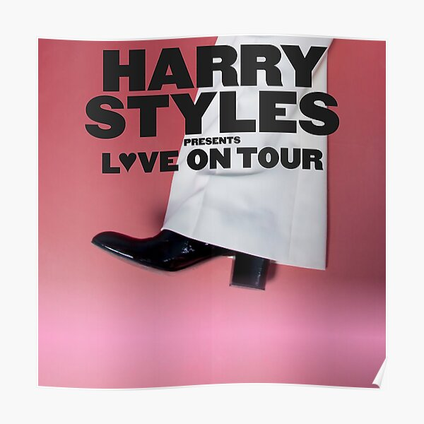 Onehar Harry UK Love en American Tour 2020 Póster