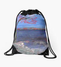 Winter Drawstring Bag