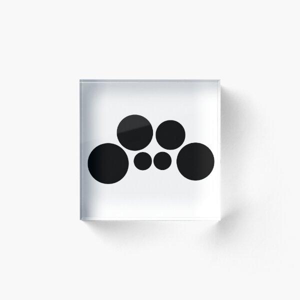 Tenor Drums - Minimalist Acrylic Block