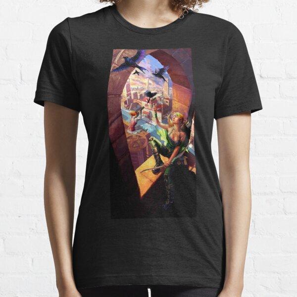 T-Shirt Marvel Avengers Capitan America Ironman Black Widow Donne Ragazze Top