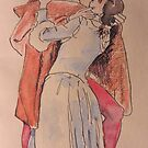 Postcards from Europe - The Kiss by Gary Shaw