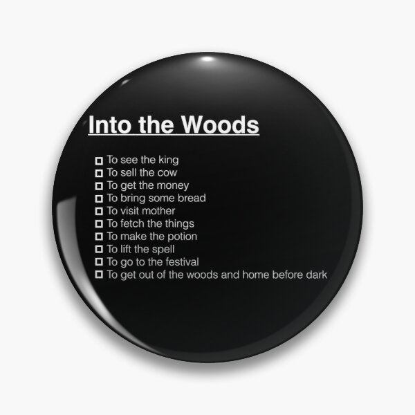 Into the Woods Pin