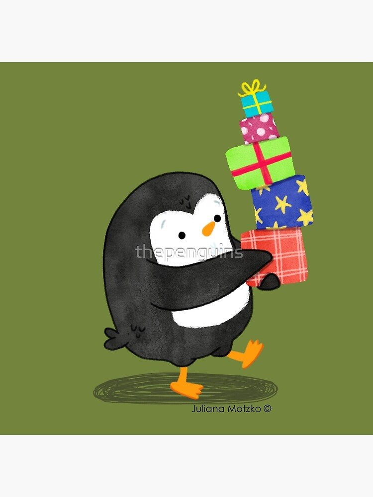 Penguin with some Gifts by thepenguins