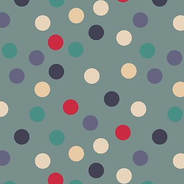 Sage polka dots by GreenNote
