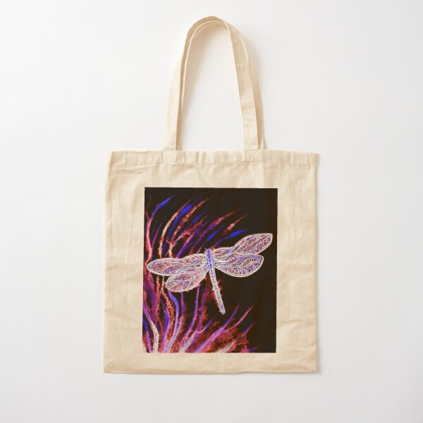 Midnight Flight Cotton Tote Bag