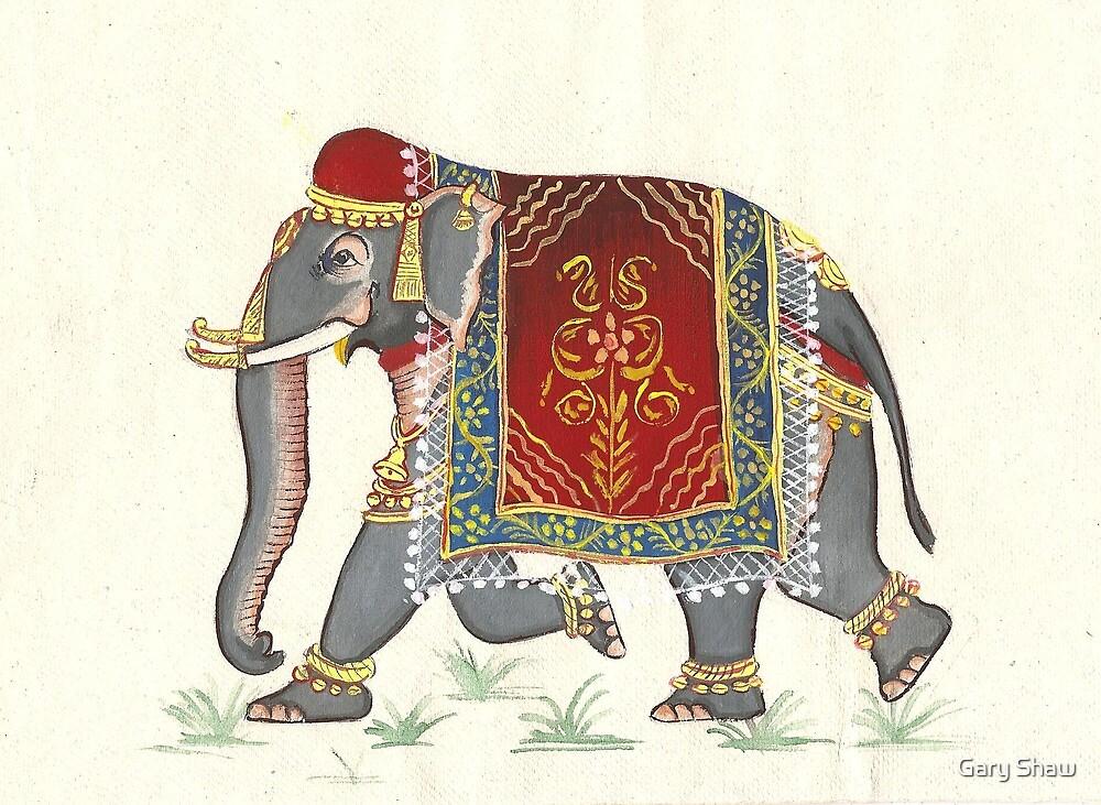 Jenul's Elephant by Gary Shaw