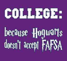 College over Hogwarts