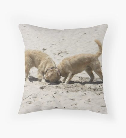 """Can you smell it? I swear it was there a minute ago!"" Throw Pillow"