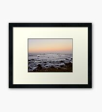 Cambria Sunset Framed Print