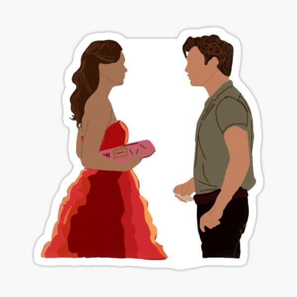 Blair y Chuck: Gossip Girl Pegatina