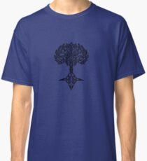 Celtic Tree - Black Classic T-Shirt