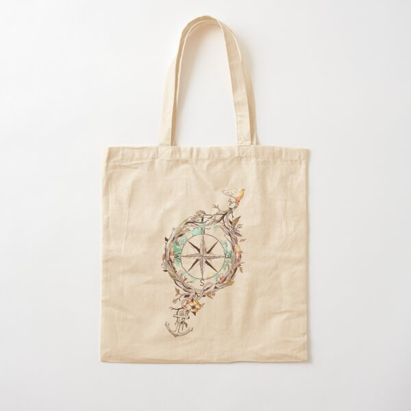 Bon Voyage Cotton Tote Bag