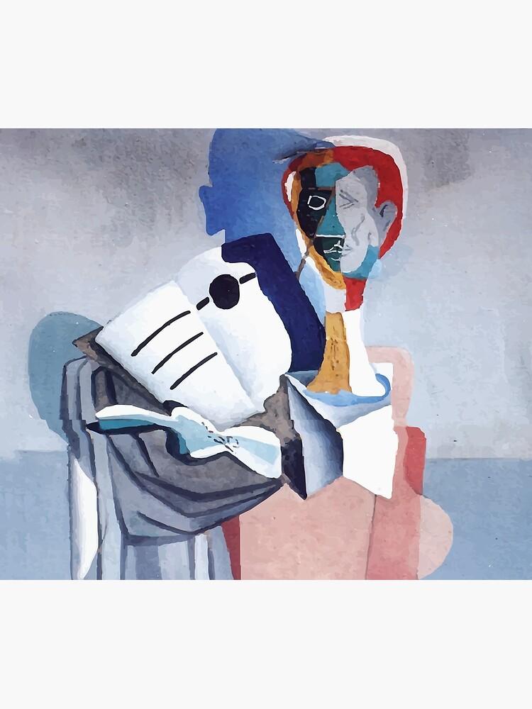 Salvador Dali | Homage to Erik Satie by badguyduh