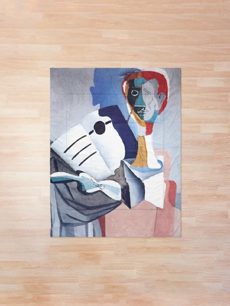 Alternate view of Salvador Dali | Homage to Erik Satie Comforter