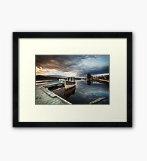 Wooden Boat School, Franklin Tasmania Framed Print