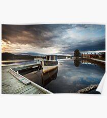 Wooden Boat School, Franklin Tasmania Poster