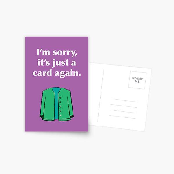 Card Again Postcard