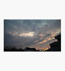 Evening 5 Photographic Print