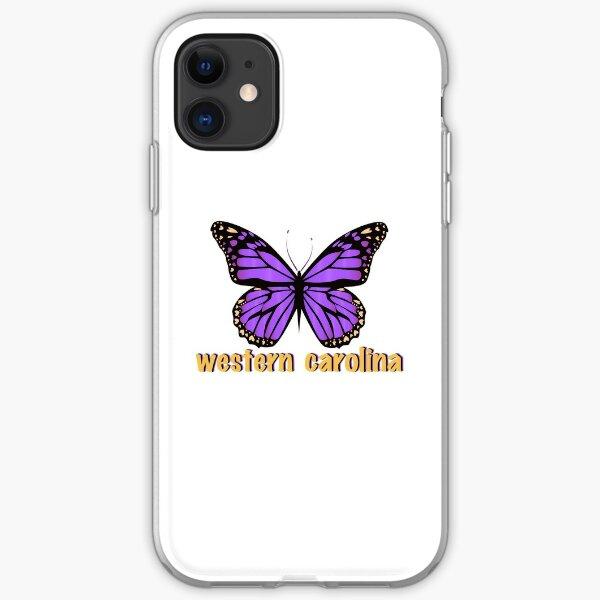 Western Carolina University Butterfly iPhone Soft Case
