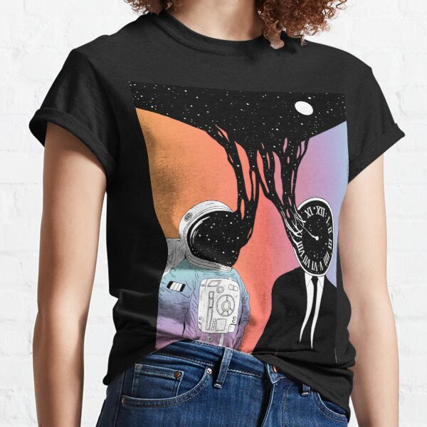 A Portrait of Space and Time (A Study of Existence) Classic T-Shirt