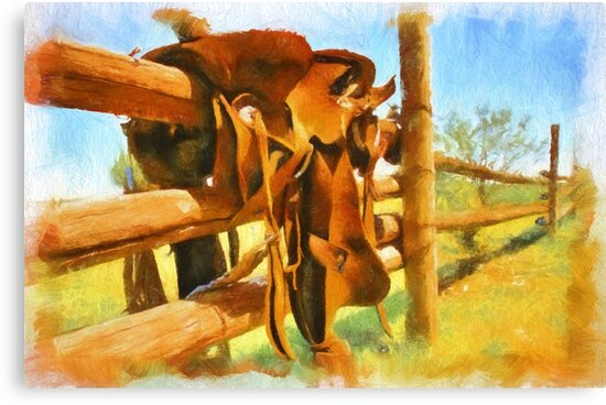 """"""" Paint Your Saddle """" by JohnDSmith"""