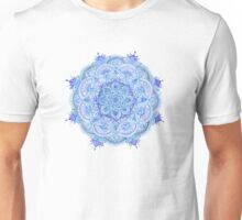 Watercolour mandala blue Unisex T-Shirt