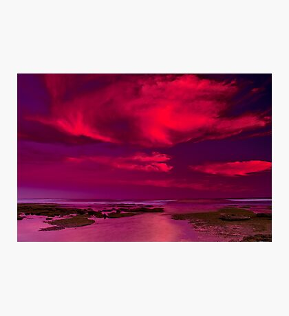 """""""Candy Floss Sunset"""" Photographic Print"""