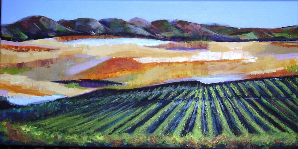 The Vineyard in a New Light by Pauline Marlo-Monten