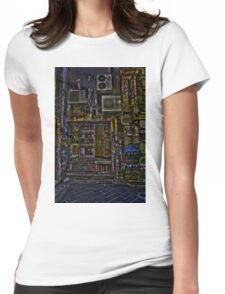 Degraves St 10 Womens Fitted T-Shirt