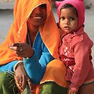 Mother & Daughter - Rajasthan, India by fionapine