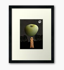 Scream New York Framed Print