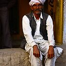 Rajasthani man - India by fionapine