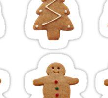Assorted gingerbread envelope seals Sticker