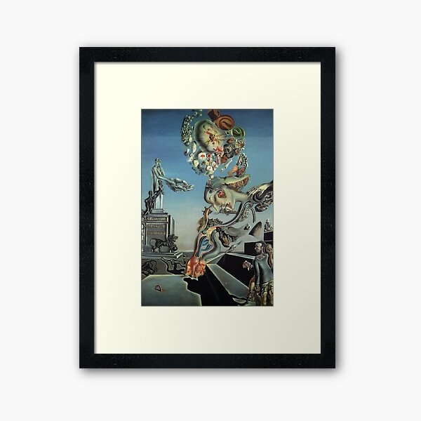 Salvador Dali | Playing in the Dark Framed Art Print